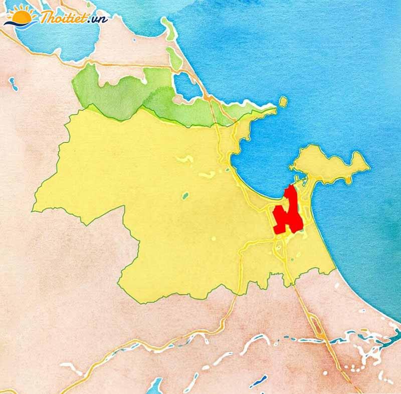 Địa giới hành chính quận Hải Châu