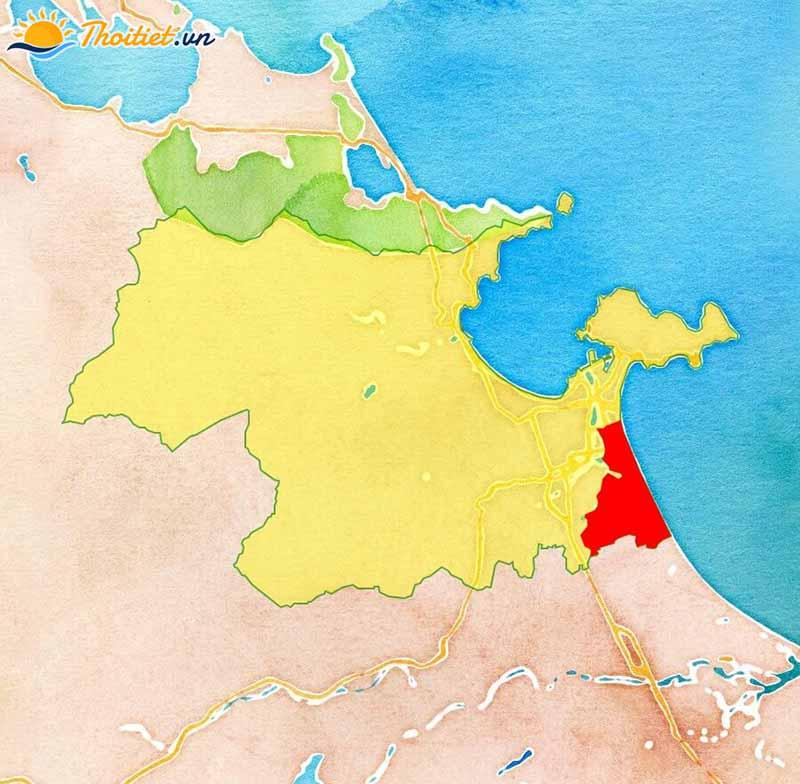 Địa giới hành chính quận Ngũ Hành Sơn