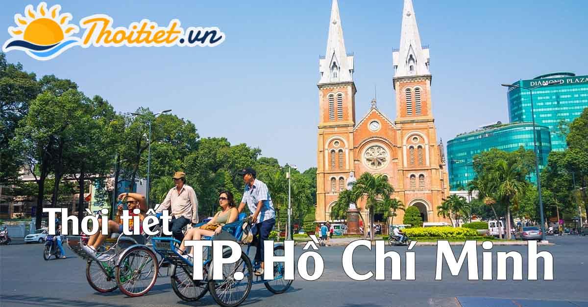 Dự báo thời tiết Thành phố Hồ Chí Minh