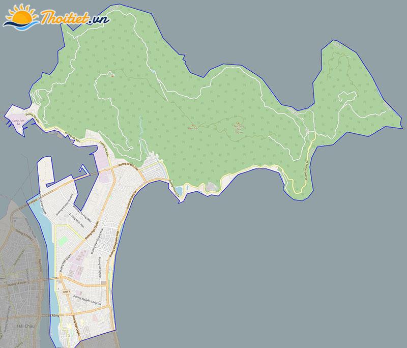 Bản đồ giao thông quận Sơn Trà