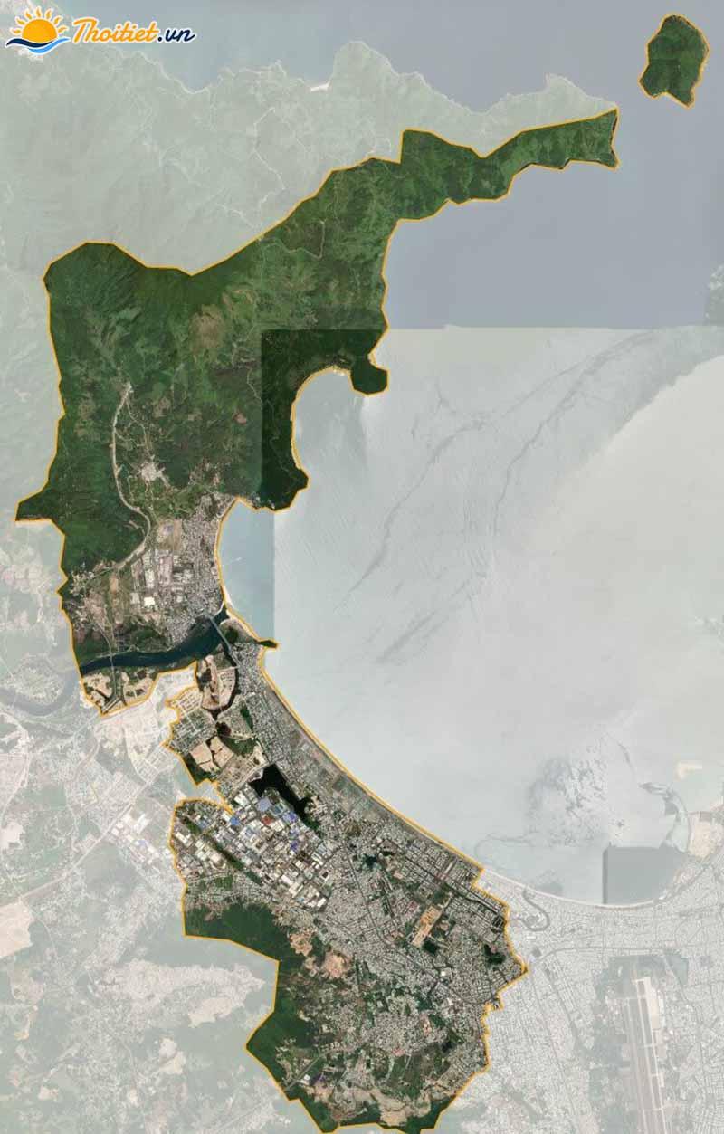Bản đồ vệ tinh quận Liên Chiểu