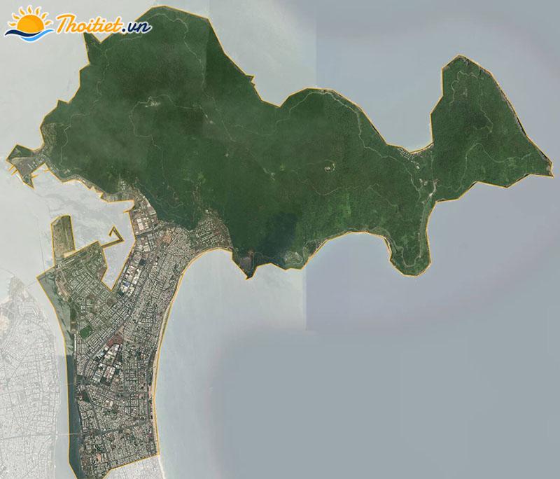 Bản đồ vệ tinh quận Sơn Trà