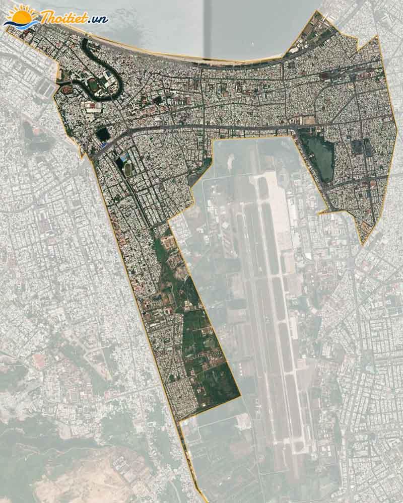 Bản đồ vệ tinh quận Thanh Khê
