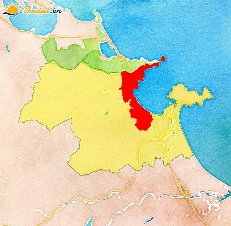 Địa giới hành chính quận Liên Chiểu