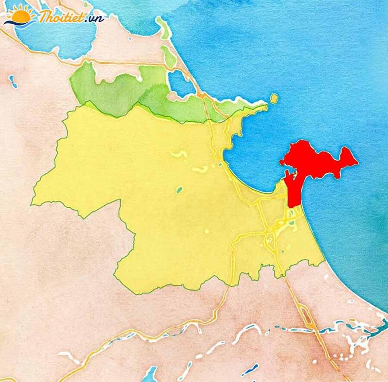 Địa giới hành chính quận Sơn Trà