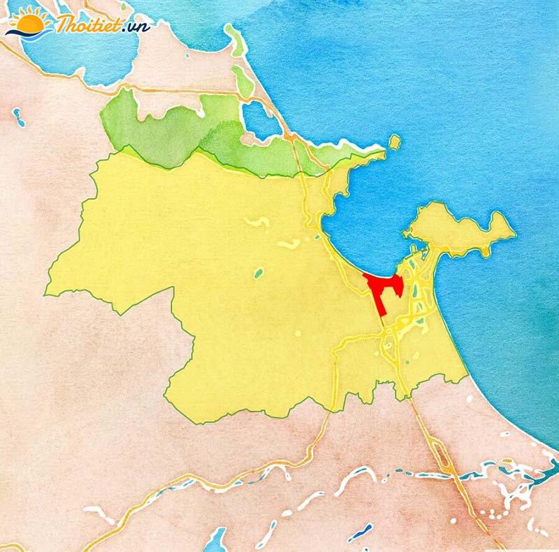Địa giới hành chính quận Thanh Khê
