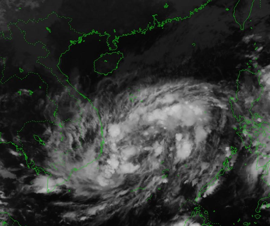 Áp thấp nhiệt đới nhiều khả năng mạnh lên thành bão số 9 trong 24h tới
