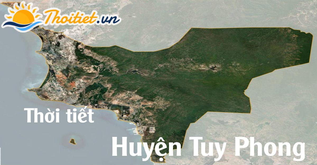 Dự báo thời tiết huyện Tuy Phong