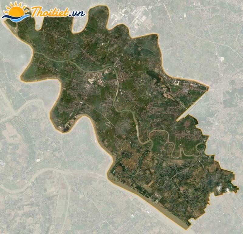 Bản đồ vệ tinh của huyện An Lão