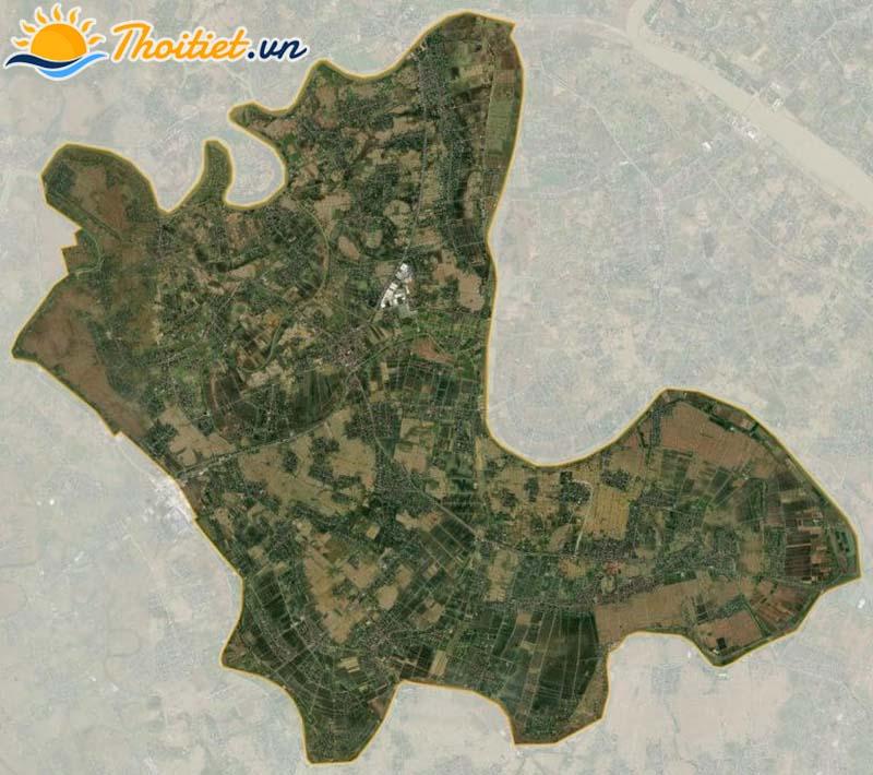 Bản đồ vệ tinh của huyện Vĩnh Bảo