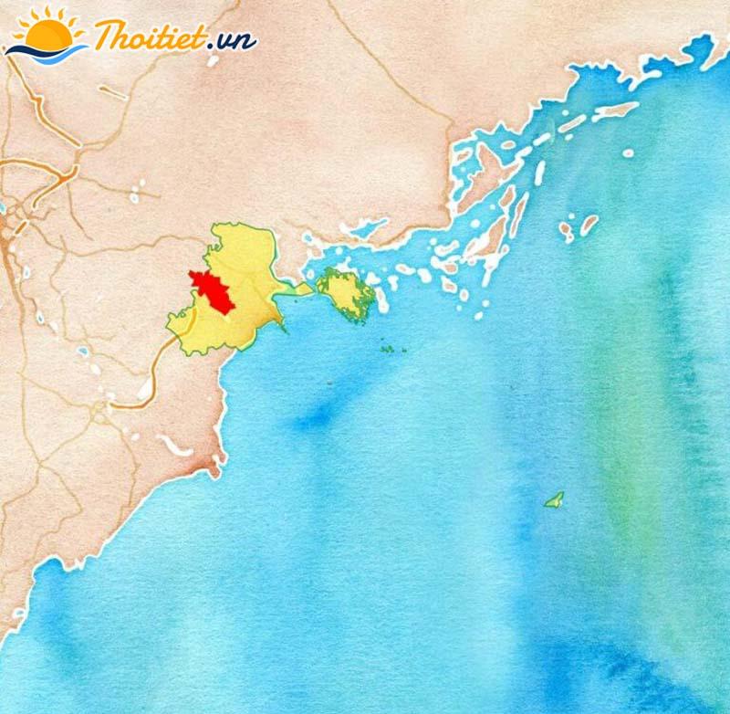 Bản đồ địa giới, vị trí của huyện An Lão