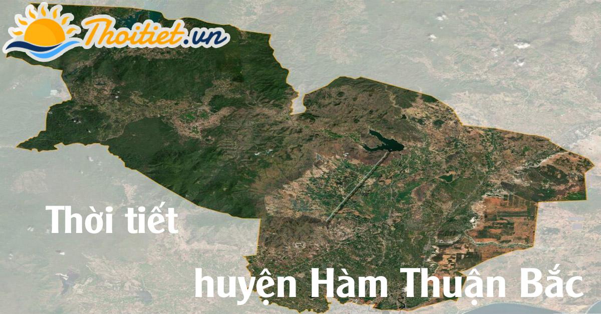 Dự báo thời tiết huyện Hàm Thuận Bắc