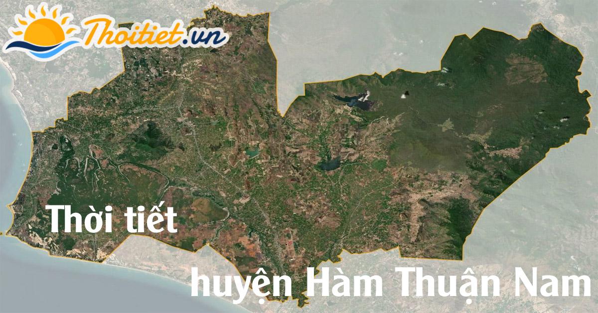 Dự báo thời tiết huyện Hàm Thuận Nam