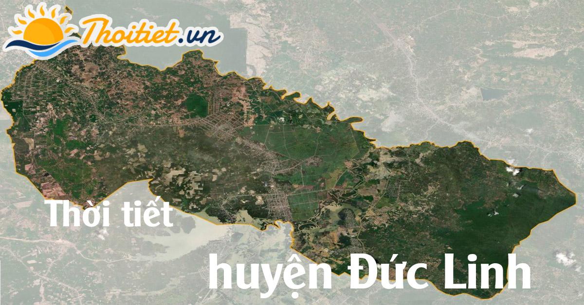 Dự báo thời tiết huyện Đức Linh