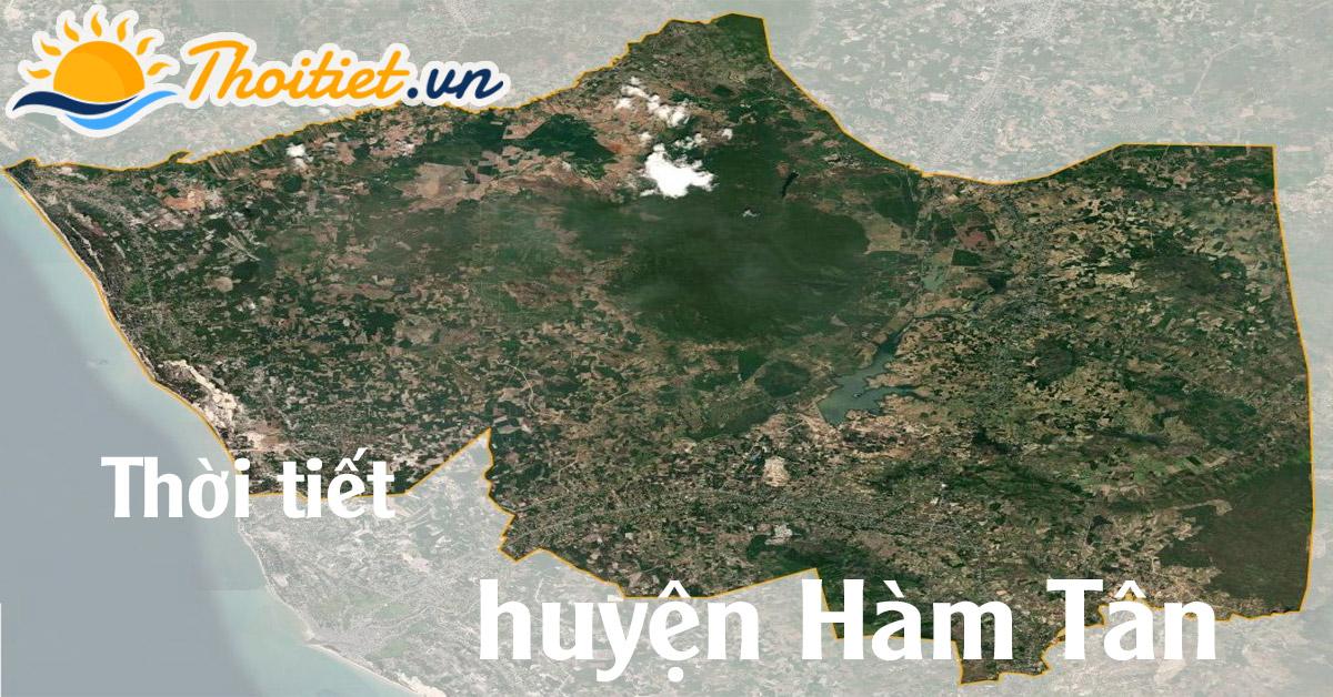 Dự báo thời tiết huyện Hàm Tân