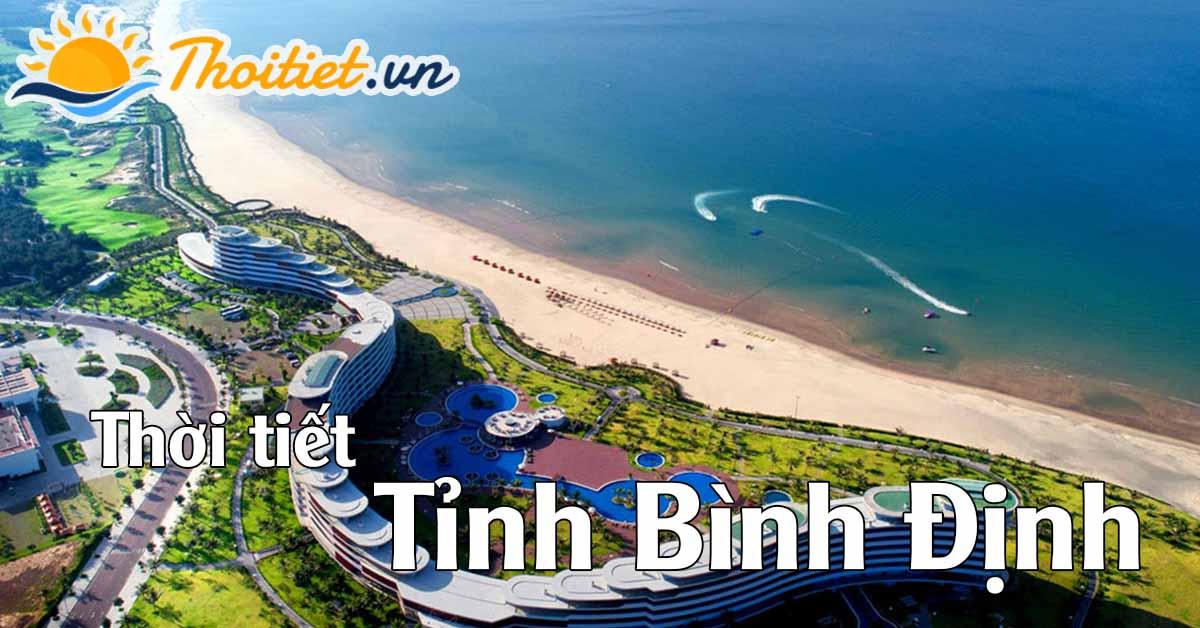 Dự báo thời tiết tỉnh Bình Định