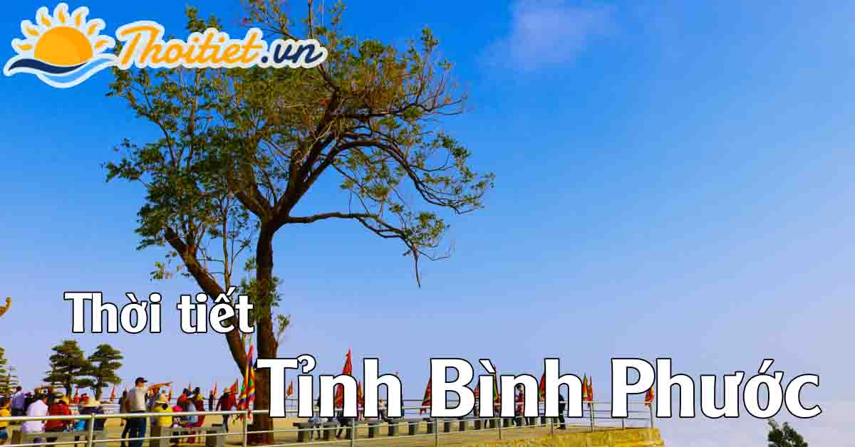 Thời tiết tỉnh Bình Phước