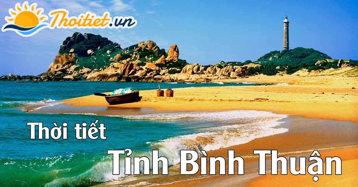 thời tiết tỉnh Bình Thuận